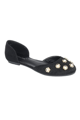 Black Pearl Flower Flat