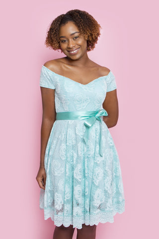 Mint Chantelle Dress