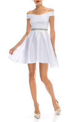 White Neila Dress