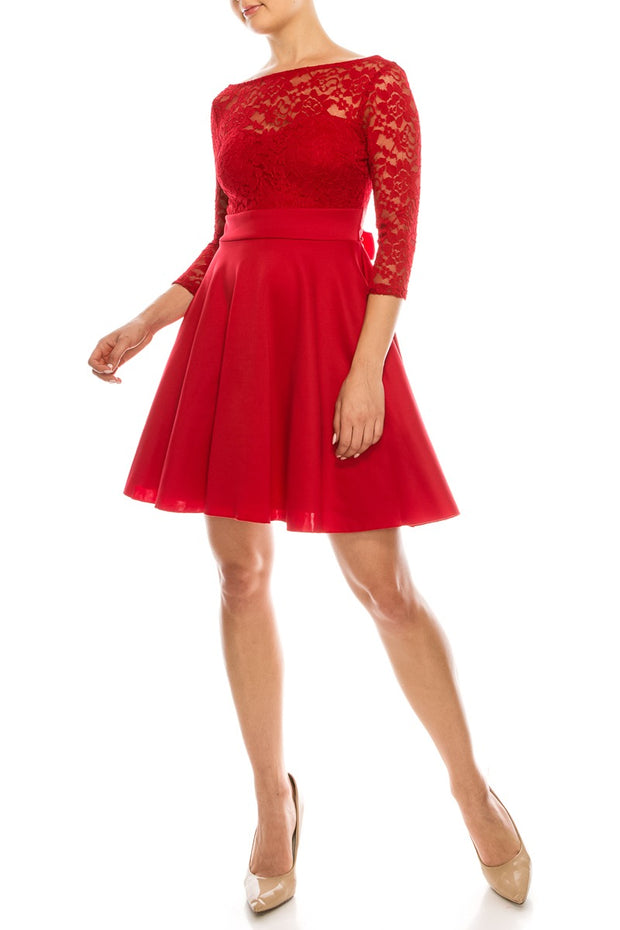 Red Kali Dress