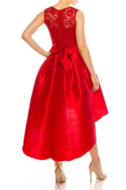 Red Brooke Dress