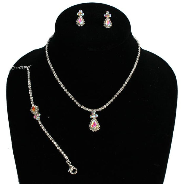 Iridescent Necklace Set