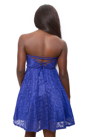 Royal Blue Amina Dress