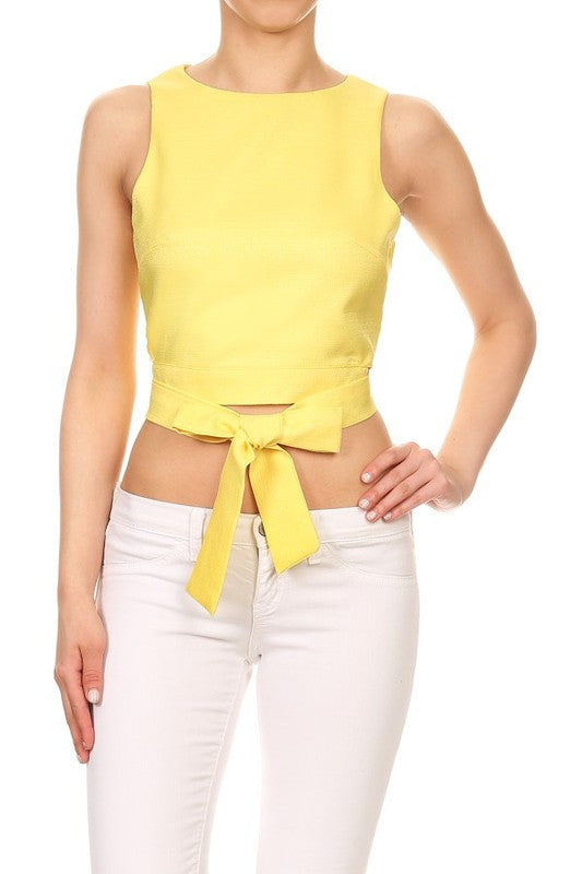 Yellow Kellie Top