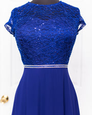 Royal Blue Callie Plus Dress