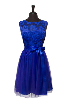 Royal Blue Adalie Plus Dress