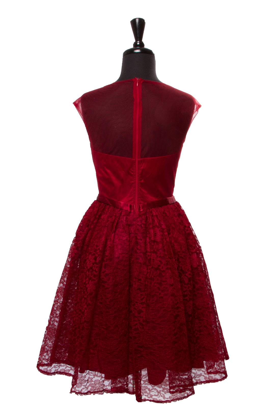 Burgundy Viviana Dress