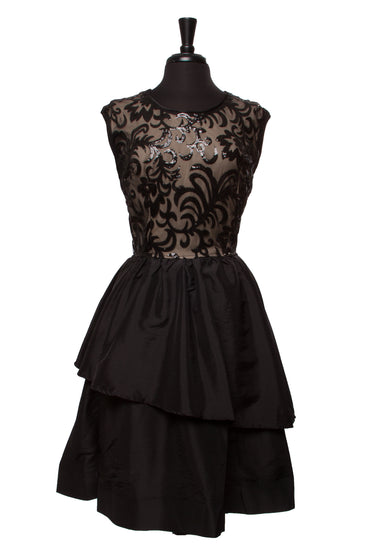 Black Mallory Plus Dress