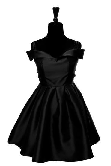 Black Madison Dress