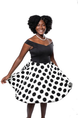 Ila Polka Dot Dress