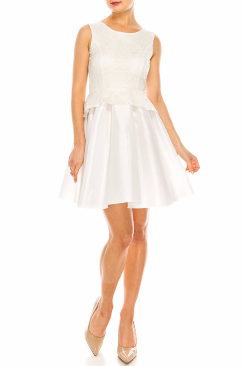 White Kayla Dress