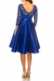 Royal Blue Simone Dress