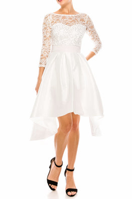 White Sparkles Dress