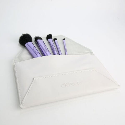 5 Pc Brush Set with Pouch