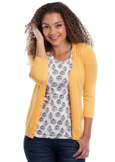 Sunset 3/4 Sleeve Cardigan