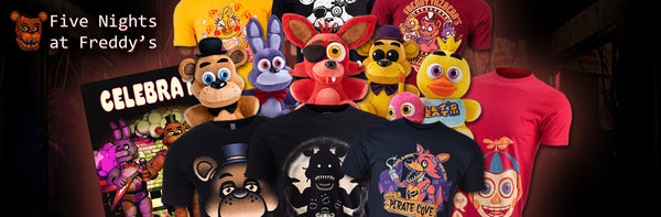 Two years working with FNAF! We're celebrating with one of our biggest sales yet!