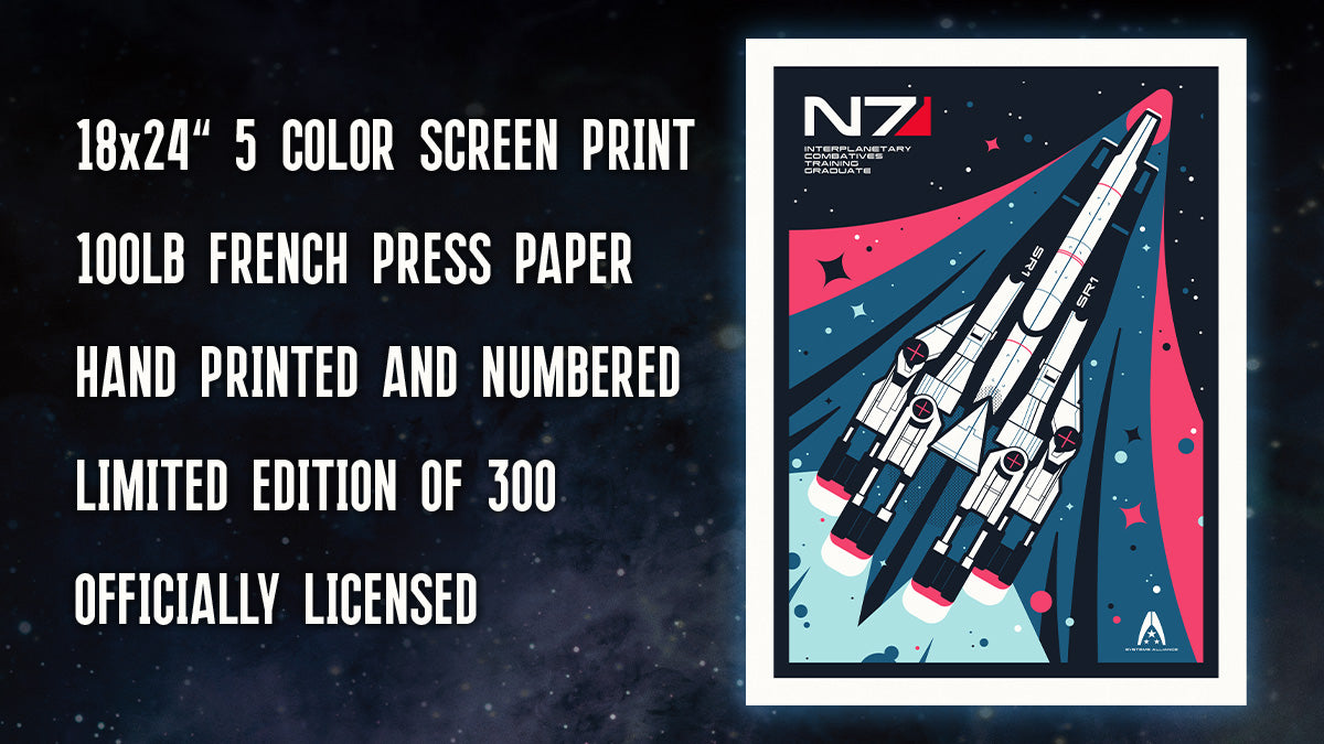 The Officially Licensed Limited Edition Normandy Retro Art Print