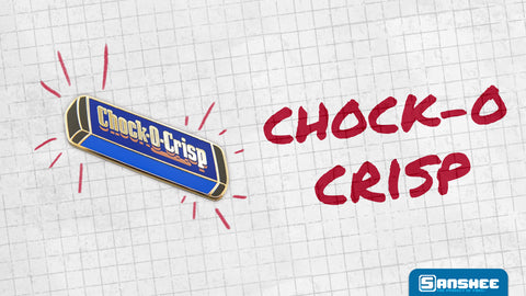 The delicious Chock-o-crisp bar. Crunchy and sweet, be sure to savor the flavor while crying over memories of dad and your bygone youth.