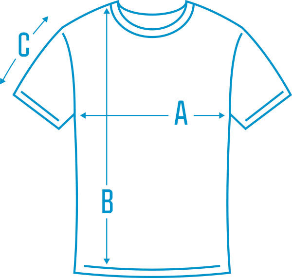 T-Shirt Diagram