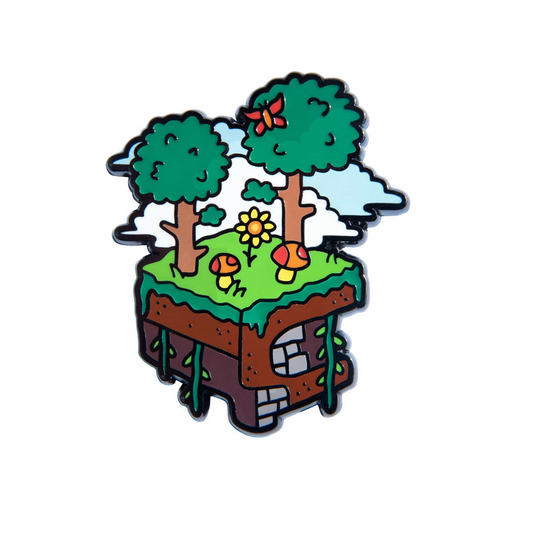 Terraria - Forest Biome Color Coated Enamel Pin