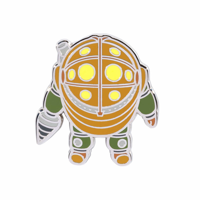 BioShock - Mr. Bubbles Silver Plated Collector's Pin