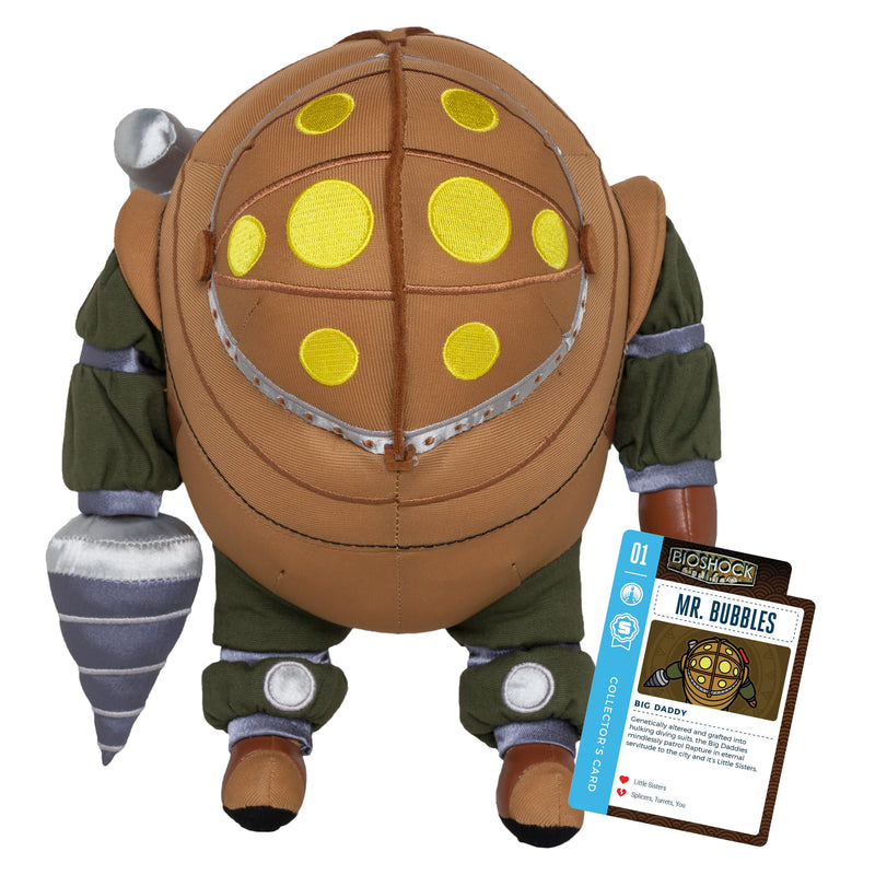 "BioShock - 11"" Mr. Bubbles Collector's Stuffed Plush Toy With Collector's Card"