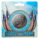 BioShock Infinite - Silver Eagle Antiqued Coin
