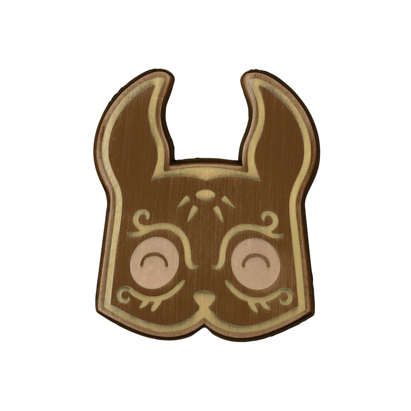Bioshock - Sander Cohen Mask Cartoon bronze Plated Enamel Pin