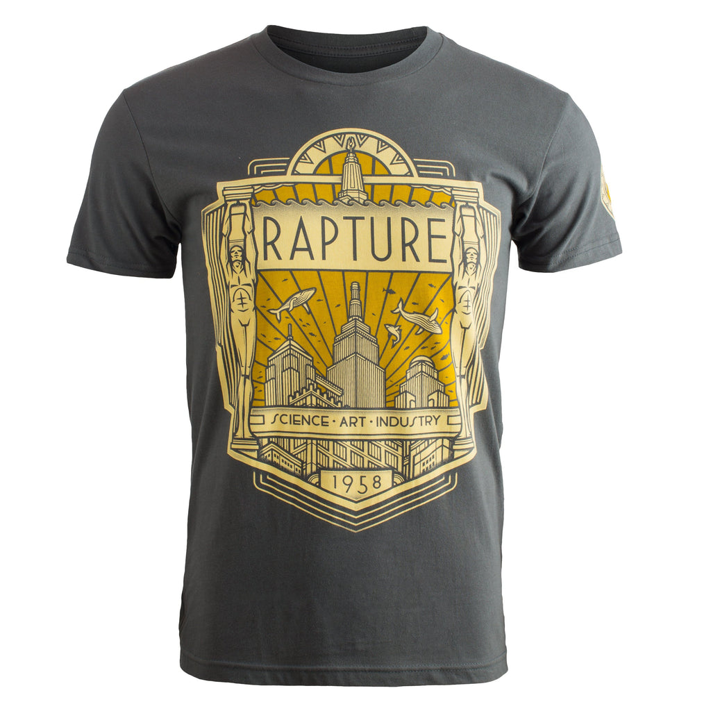BioShock - Rapture Deco Cotton T-shirt