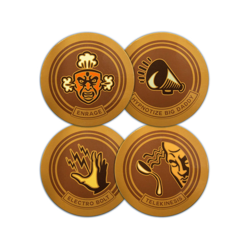 Bioshock - Plasmid Coaster Set: Series 1