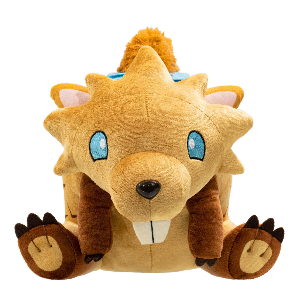 Dauntless - Gnasher Stuffed Plush Toy With Tear-Away Tail Front View