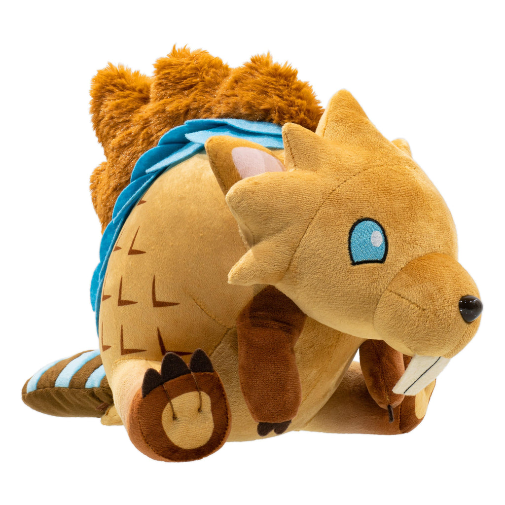 "Dauntless - 12.5"" Gnasher Stuffed Plush Toy With Tear-Away Tail Side View"
