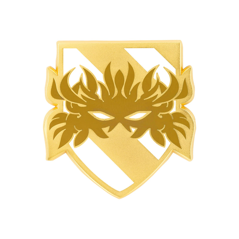 Dragon Age - Dalish Gold Plated Crest Enamel Pin