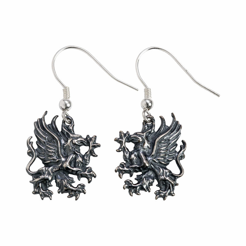 Dragon Age - Grey Warden Earrings: Solid Sterling Silver