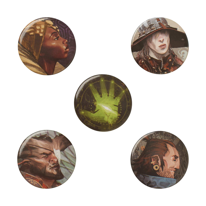 Dragon Age: Inquisition - Character Button Pack: Series 1