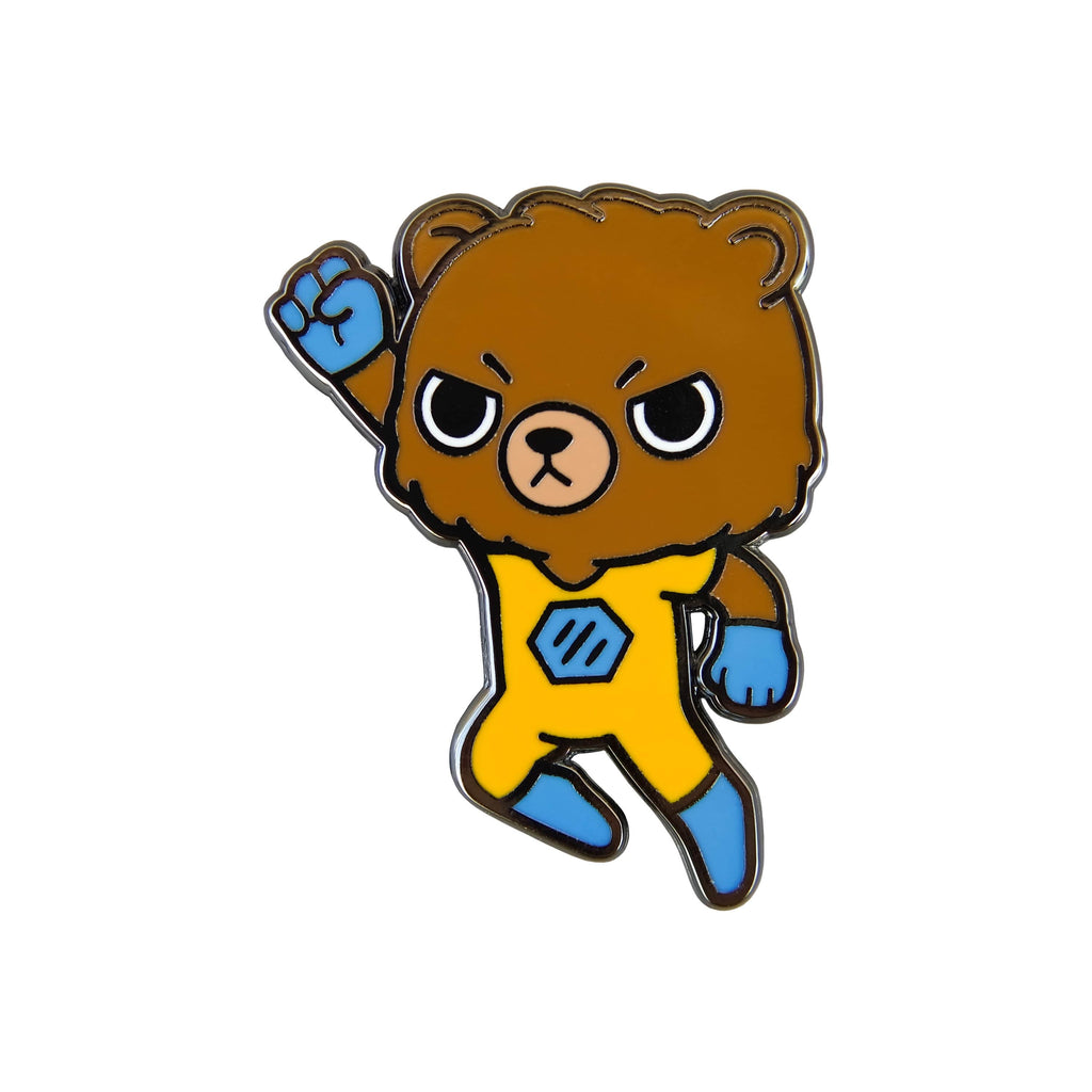 Life is Strange 2 - Power Bear Chibi Gold Plated Enamel Pin