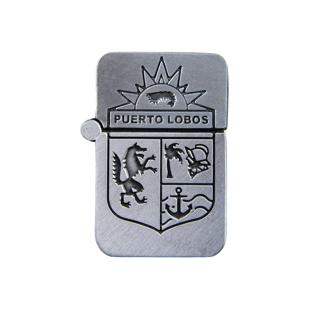 Life is Strange 2 Puerto Lobos Silver Plated Lighter Pin Closed