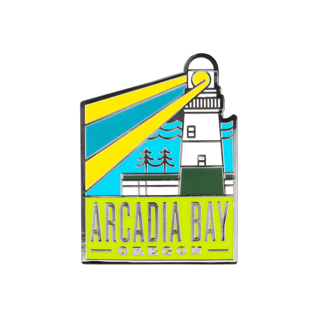 Life Is Strange - Arcadia Bay Tourist Silver Plated Enamel Pin