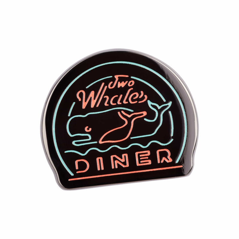 Life Is Strange - Two Whales Neon Glow-In-The-Dark Pin