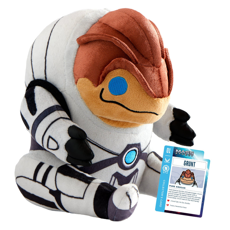 Mass Effect - Grunt Collector's  Stuffed Plush With Collector's Card