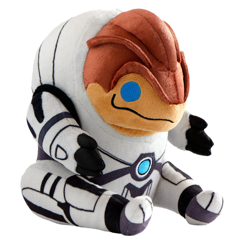 "Mass Effect - 9"" Grunt Collector's  Stuffed Plush Side View"
