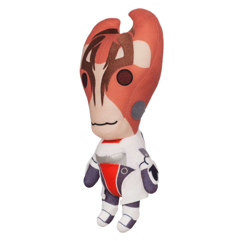 "Mass Effect - 12"" Mordin Solus Collector's Stuffed Plush Side View No Shell"