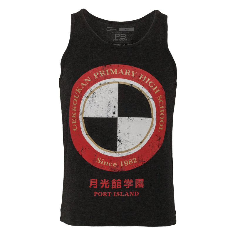 Persona 3 - Gekkoukan High School Cotton Poly Blend Tank