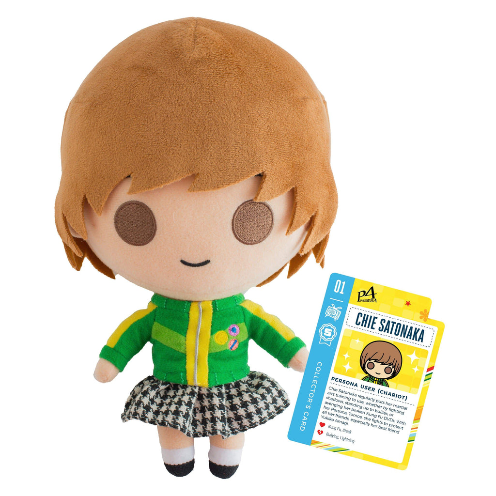 "Persona 4 - 10"" Chie Satonaka Collector's Plush Stuffed Toy With Collector's Card"