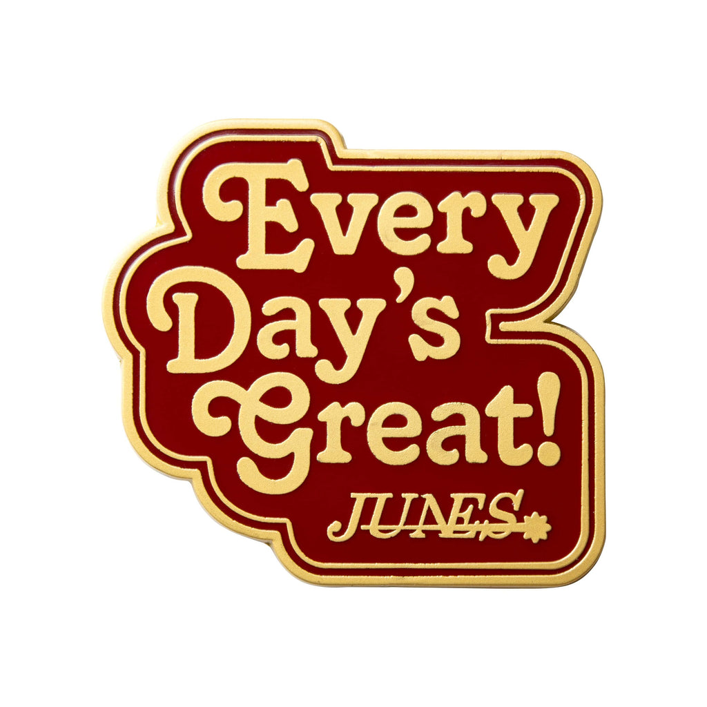 Persona 4 - Every Day's Great Junes Brass Plated Enamel Pin