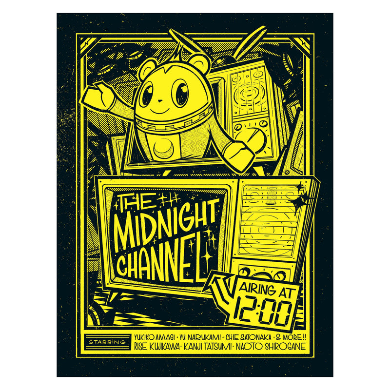 Persona 4 - Midnight Channel Street Poster