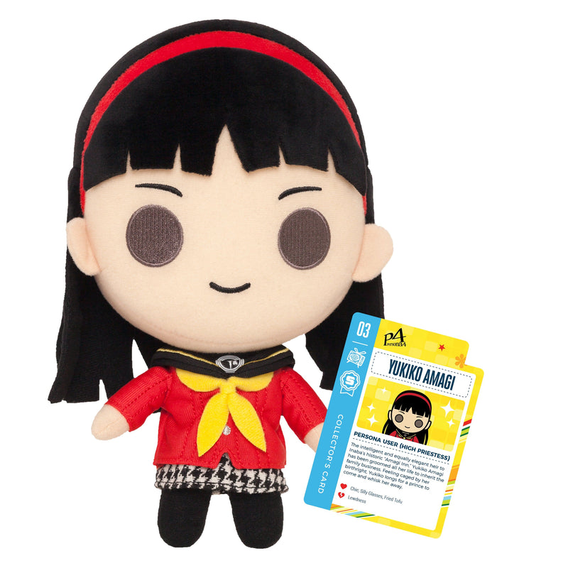 "Persona 4 - 10"" Yukiko Amagi Collector's Stuffed Plush With Collector's Card"