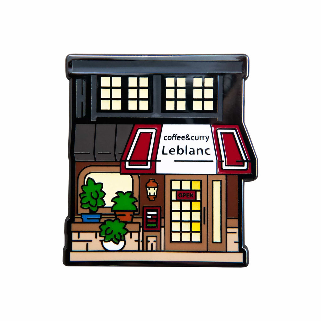 Persona 5 - Cafe Leblanc Nickel Plated Enamel Pin