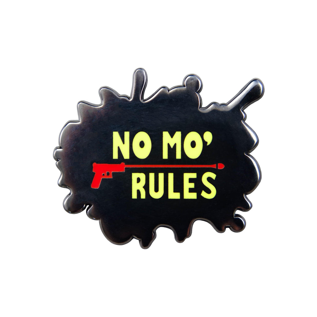 Persona 5 - No Mo' Rules Nickel Plated Enamel Pin