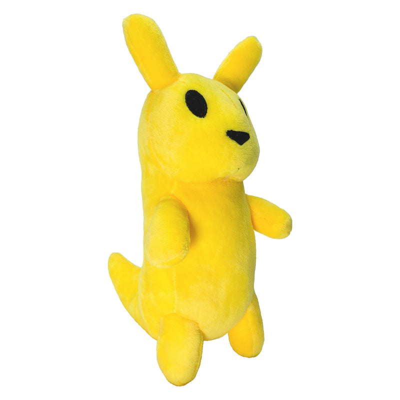 "Rain World - 9.5"" Slugcat Stuffed Plush Toy Monk Side View"